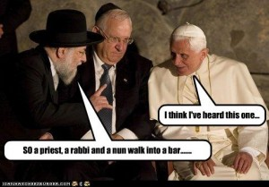 a priest a minister and rabbi and Zalman Velvel inspriational short story writer