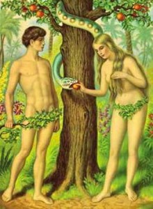 adam-and-eve and Zalman Velvel funny inspirational writer